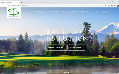Seattle Golf Instruction